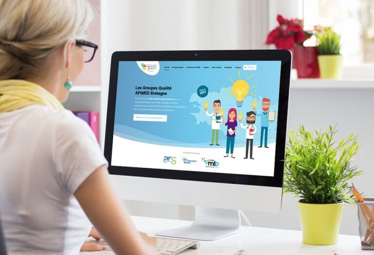 Lancement du nouveau site internet des Groupes Qualité en Bretagne